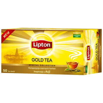 LIPTON GOLD Black tea 50 bags 75g