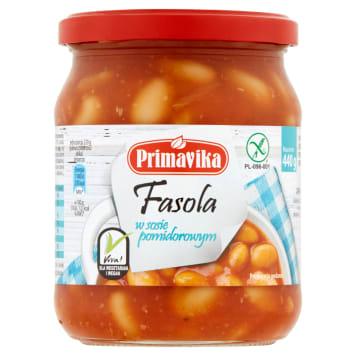 PRIMAVIKA Fasola w sosie pomidorowym 440g