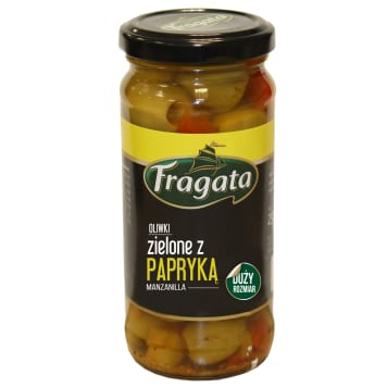 FRAGATA Green olives with peppers 230 g