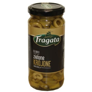 FRAGATA Green olives sliced 240g