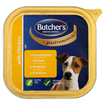 BUTCHER'S Gastronomia Food for adult dogs with chicken 150g