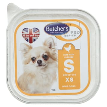 BUTCHER'S PRO SERIES Dog food for adult dogs with chicken and vegetables 100 g