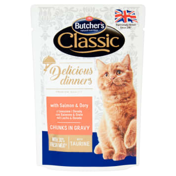 BUTCHER'S Classic Cat food cuts in a sauce of salmon and a counselor 100g