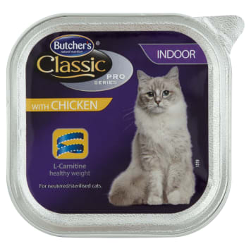 BUTCHER'S Classic Pro Series Cat food for adult chicken pate 100g