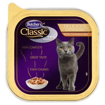 BUTCHER'S Classic Pro Series Cat food cuts in a sauce of salmon 100 g