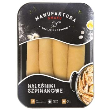 MANUFAKTURA SMAKU Pancakes with spinach 450g