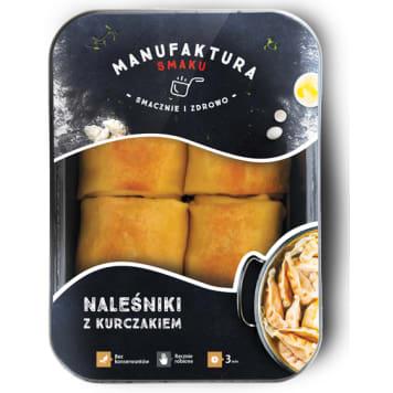 MANUFAKTURA SMAKU Pancakes with chicken 450g