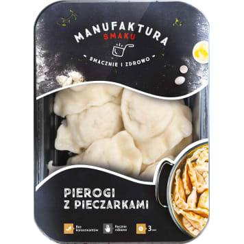 MANUFAKTURA SMAKU Dumplings with mushrooms 250 g