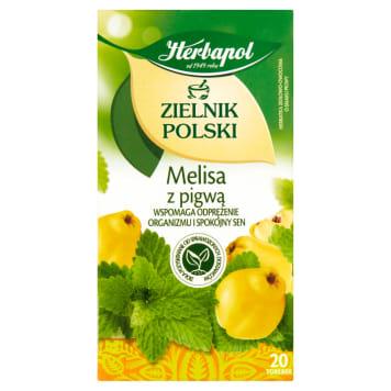 Melisa z pigw a 20 torebek , Zielnik Polski Owoce i Zioła - Herbapol