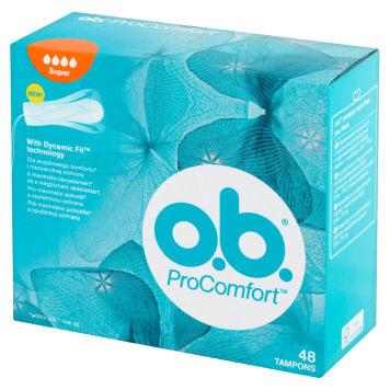 O.B.® ProComfort Super Tampons 48 pcs 1pc