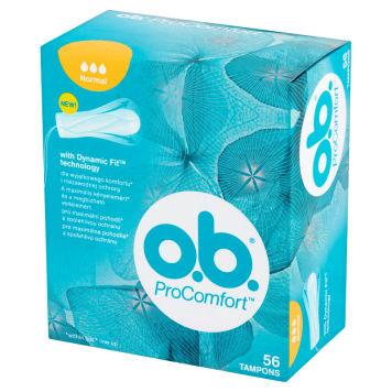 O.B.® ProComfort Tampony Normal 56 szt. 1pc