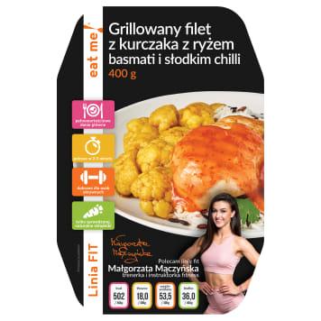EAT ME! Grillowany filet z kurczaka z ryżem basmati i słodkim chilli 400g