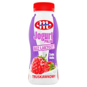 MLEKOVITA Bez laktozy Yogurt Lilac lactose strawberry 250g
