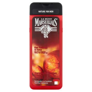 LE PETIT MARSEILLAIS 3 in 1 shower gel for men Orange and Saffron 400ml