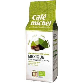 CAFE MICHEL Ground coffee Arabica Mexico Fair Trade BIO 250 g