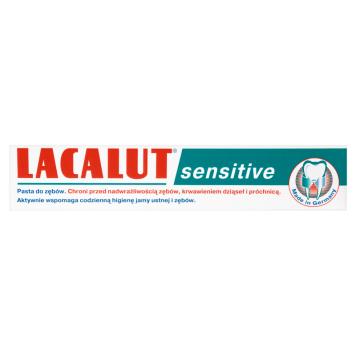 LACALUT Sensitive Pasta do zębów 75ml
