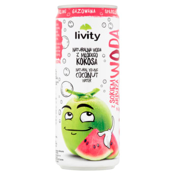 LIVITY Coconut water with aerated watermelon juice 320 ml