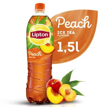 Napój gazowany-Lipton Ice Tea Peach 1500 ml. Doskonale ugasi pragnienie podczas upalnych dni.