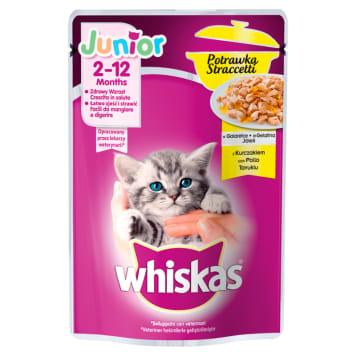 WHISKAS Junior Casserole Cat food with Chicken in Jelly 85g