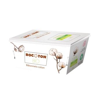 Patyczki kosmetyczne 200 szt - Bocoton. Ekologiczne patyczki wyprodukowane z bawełny.