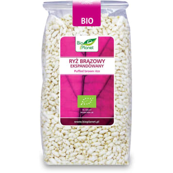 Ryż preparowany - Bio Planet. Pyszny smak i mnóstwo cennych dla zdrowia składników.