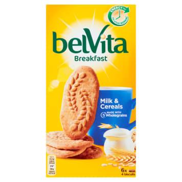 Ciastka zbożowe 5 zbóż i mleko - Belvita