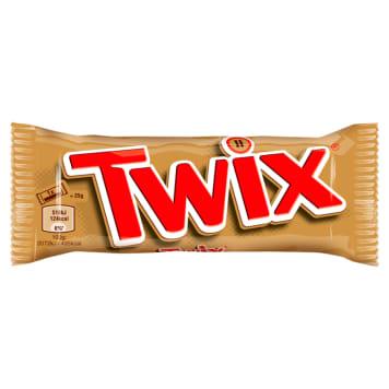 Baton z karmelem i czekoladą - TWIX. Słodka przyjemność