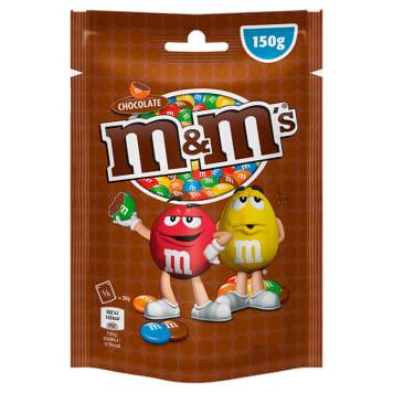 Drażetki czekoladowe – M&M's. Chrupiąca przekąska o czekoladowym smaku.