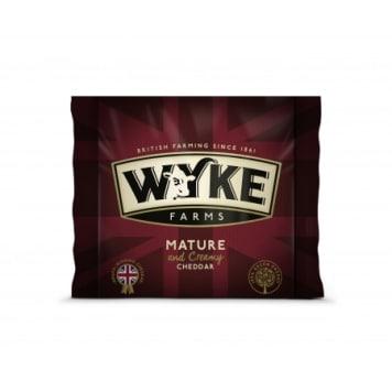 WYKE FARMS Cheese cheddar mature 200g