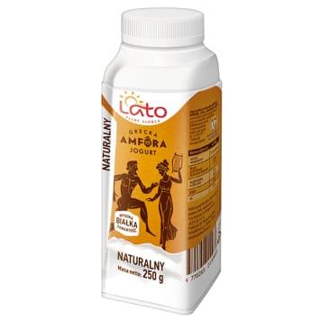 LATO PEŁNE SŁOŃCA Greek natural drinking yogurt 1pc