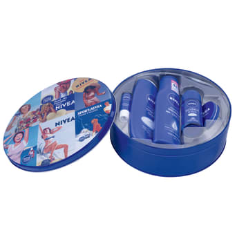 NIVEA A can of gel, cream, lipstick, lotion, deodorant 1pc