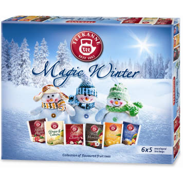 TEEKANNE Magic Winter A set of flavored fruit teas 30 bags 68g