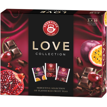 TEEKANNE Love Collection A set of flavored fruit teas 30 bags 67g