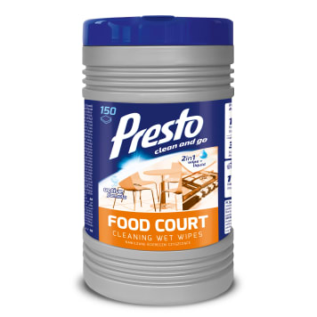 PRESTO Commercial cloth Tuba Food Court 150 pcs 1pc