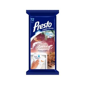 PRESTO Winter Toy Universal household cloths Piernik & Goździk 1pc