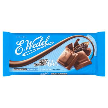 Czekolada gorzka o wyrazistym smaku - Wedel