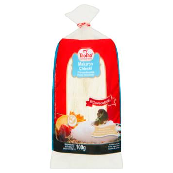 Sojowy makaron chiński - Tao Tao. To wysokiej jakości makaron niezbędny w daniach kuchni chińskiej.
