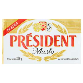 Masło extra 200g - President
