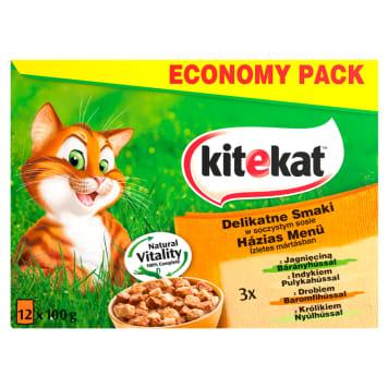 Pokarm dla kotów - Kitekat. Doskonałe pożywienie dla każego pupila.