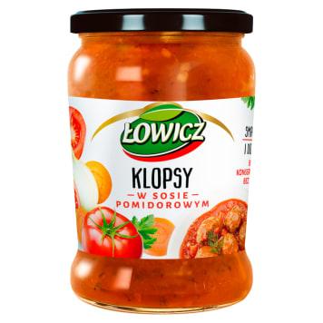 Łowicz - Klopsy w sosie pomidorowym. Doskonały pomysł na obiad.
