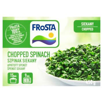 Szpinak siekany - Frosta. Inspiracja kulinarnych potraw.