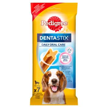 Pedigree - Denta Stix Medium Przysmak dla psów to produkt, który dba o higienę jamy ustnej.