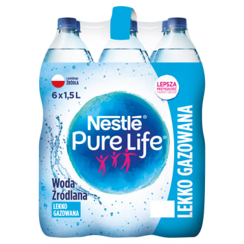 NESTLÉ PURE LIFE Natural Carbonated Mineral Water 9l