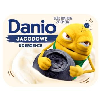 DANONE DANIO Serek jagodowy 140g