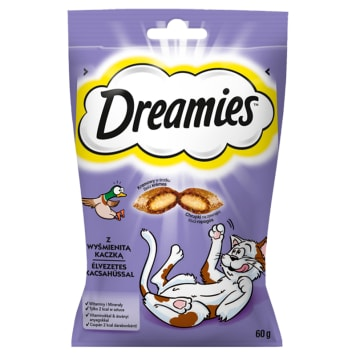 DREAMIES Delicacies for cats with delicious duck 60g