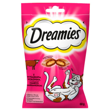 DREAMIES Delicacies for cats with delicious beef 60 g