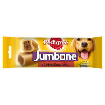 PEDIGREE Jumbone Medium A delicacy for Dogs with Beef (2 pieces) 200g