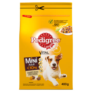 PEDIGREE Complete Dry Food for Adult Small Breeds 400g