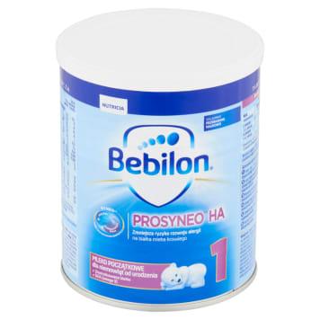Mleko - Bebilon. Dla niemowląt od urodzenia aż do ukończenia 6. miesiąca życia.