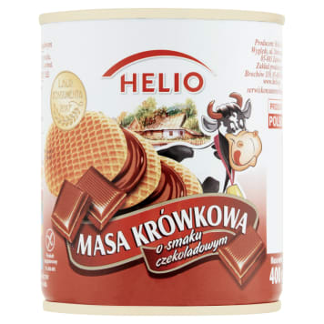 HELIO Chocolate flavoured fudge mass 400g